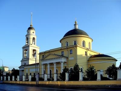 церковь,где венчался Пушкин