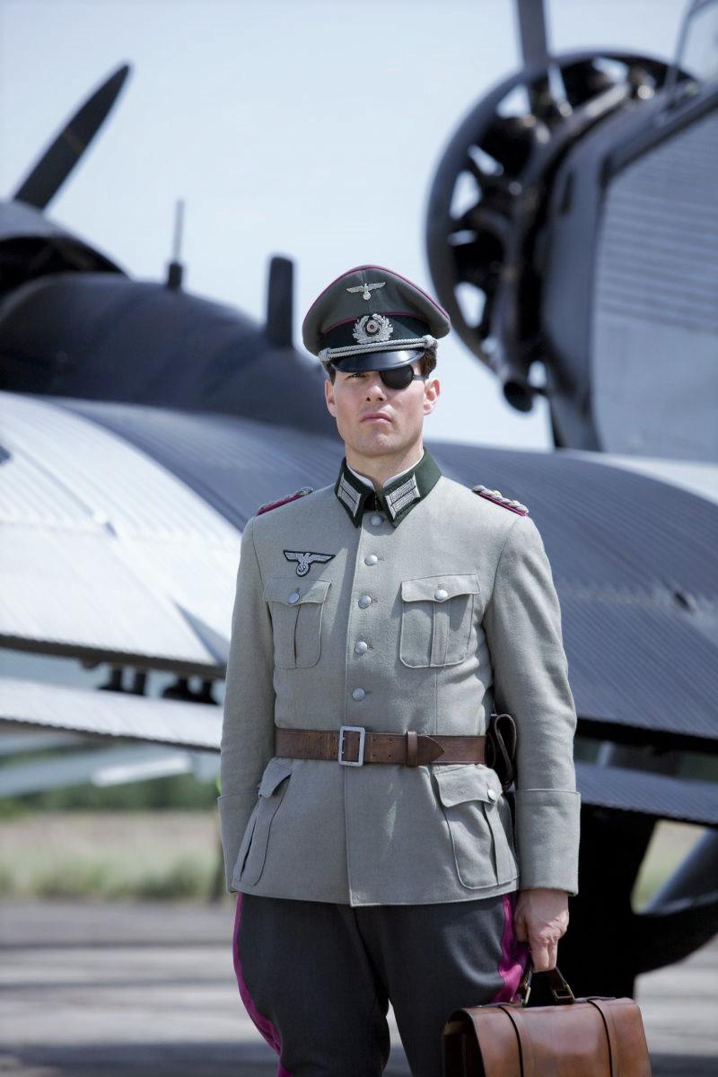 Том Круз в роли Штауффенберга, к/ф «Операция Валькирия».